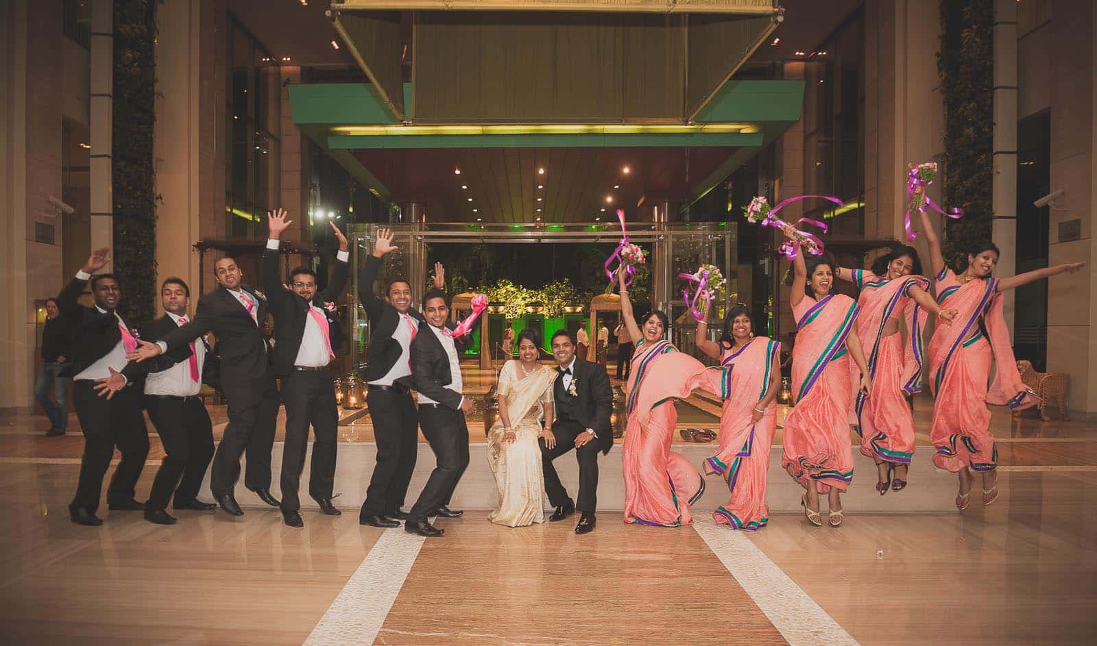 Best Wedding Photographer India | Group Photography at ITC Gardenia Bangalore