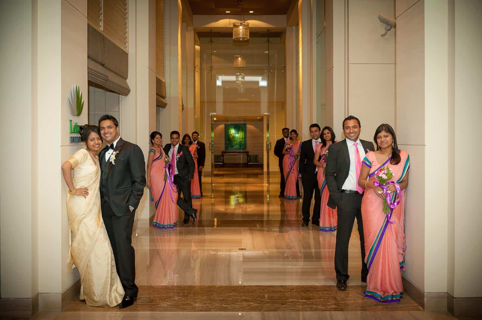 Best Wedding Photographer Bangalore India | Group Portrait Photography ITC Gardenia Bangalore