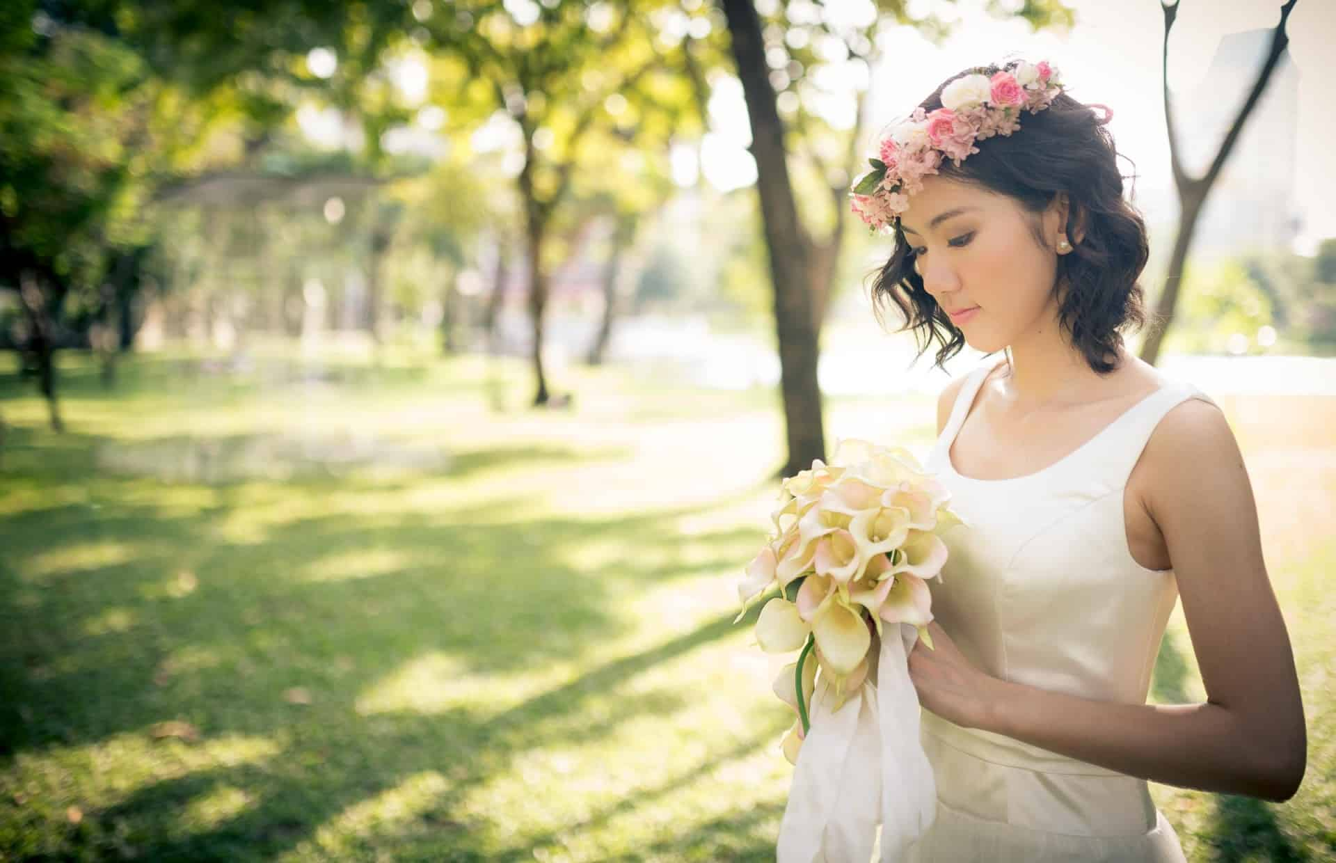 Bangkok Based Wedding Photographer | Thailand Portrait Wedding Photography