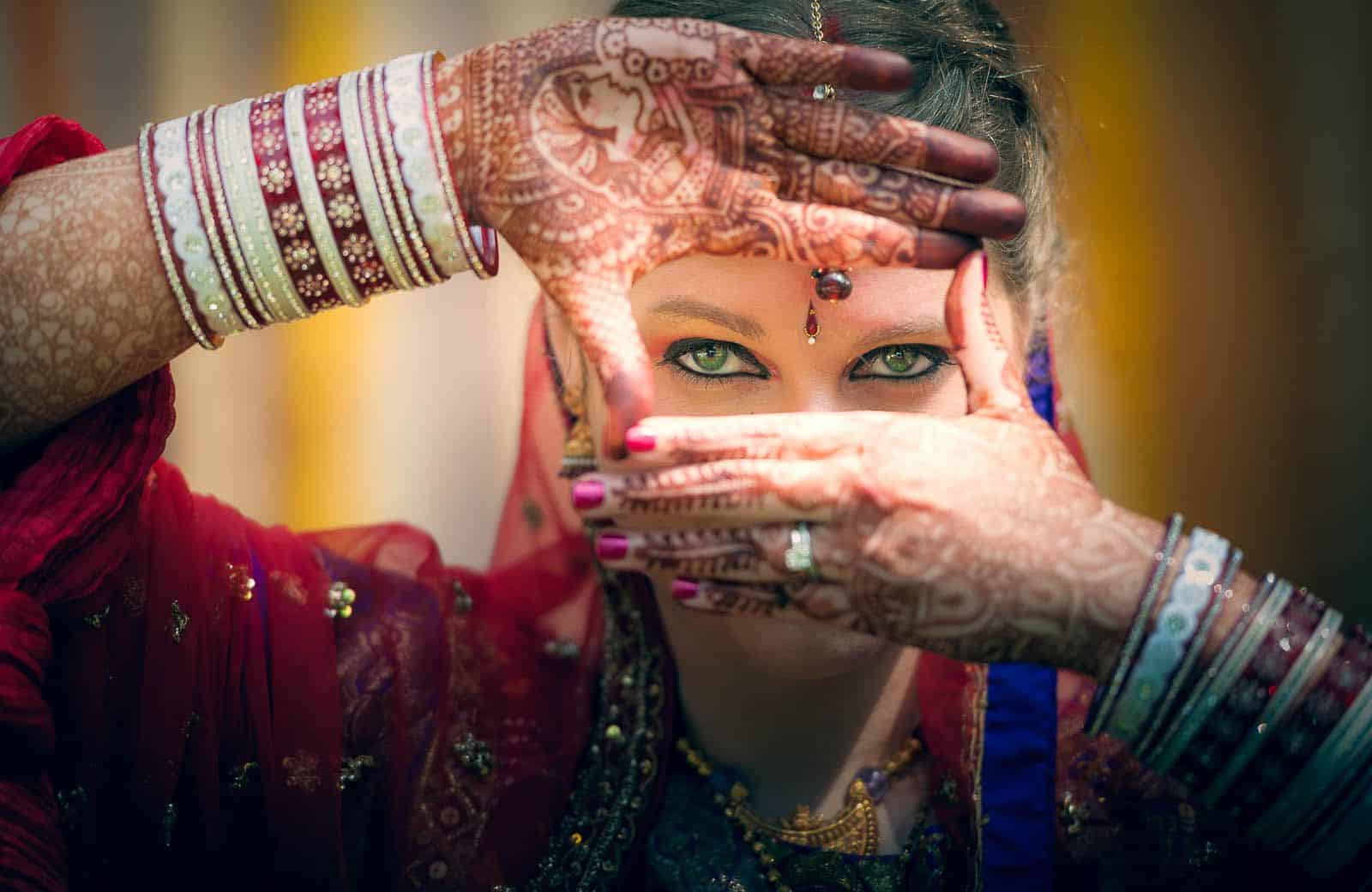 best-wedding-photography-taj-westend-american-bride-saree