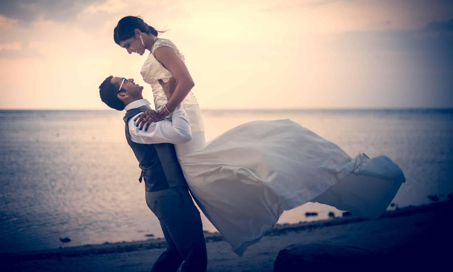Pre-Wedding Photographer Thailand | Indian Bride Dress | Bali Beach Wedding Photography