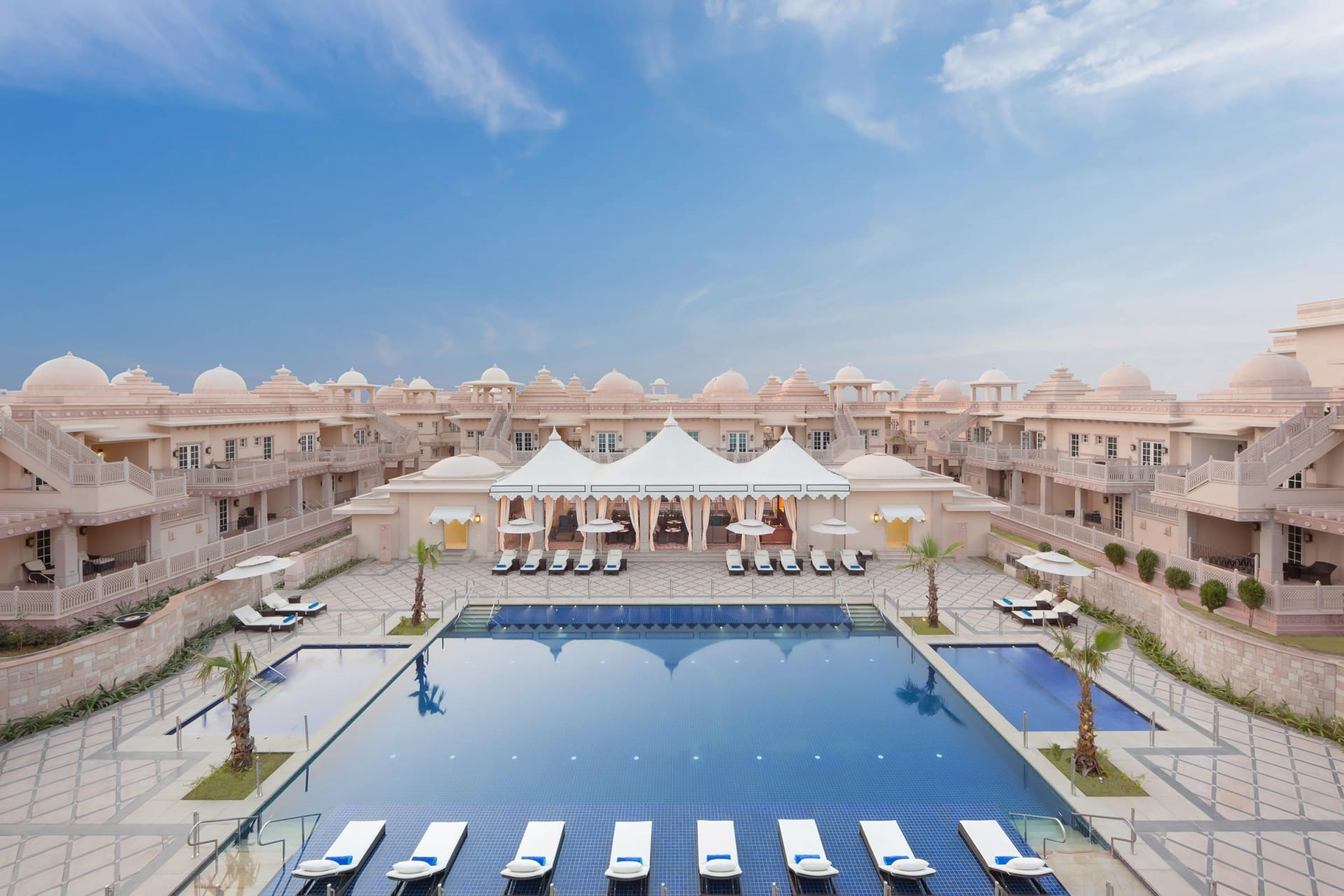 Best Architecture Photographer Delhi India | Collection of Luxury Facade Swimming Pool Photography