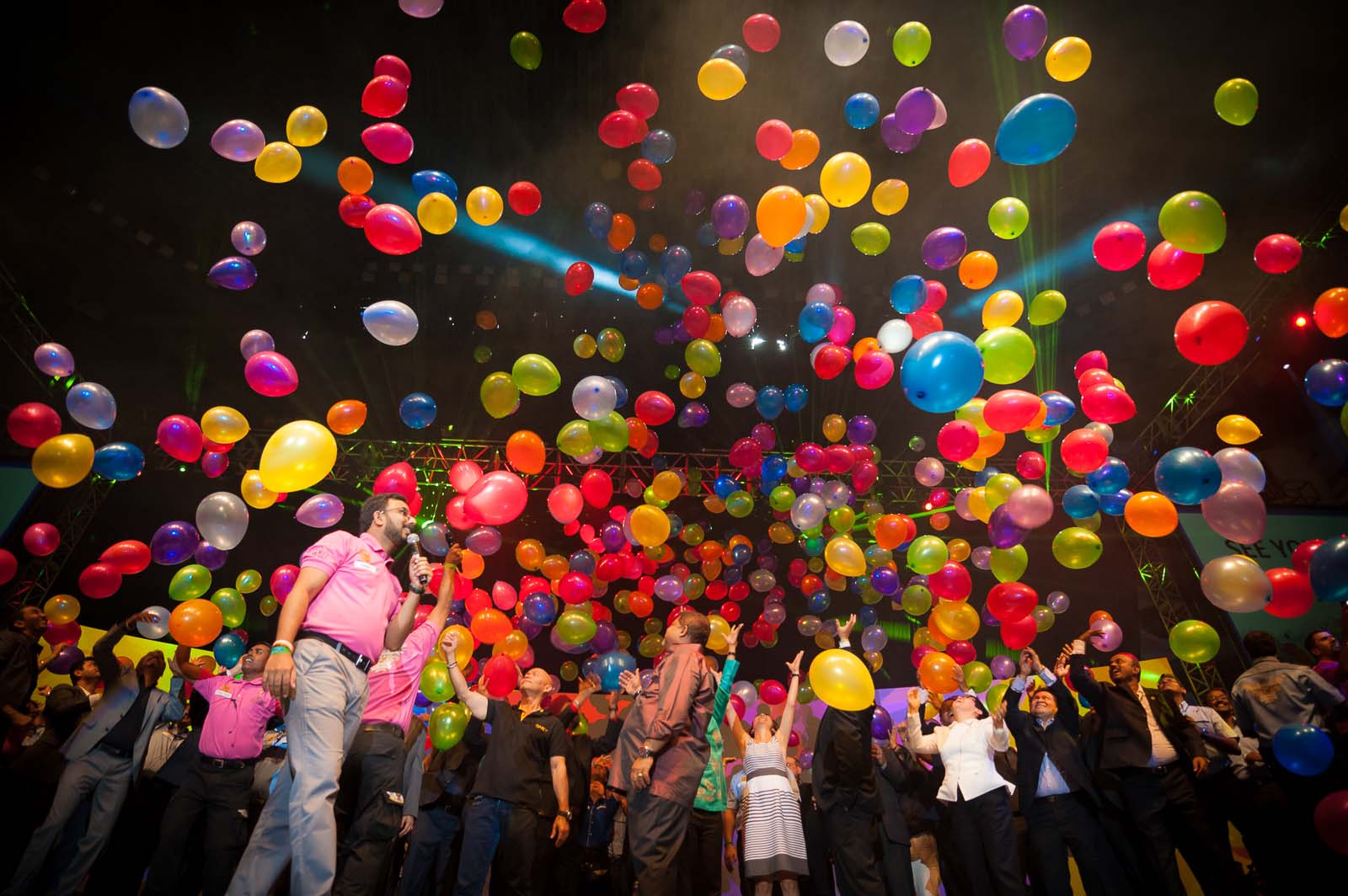 Best Corporate Event Photographer Thailand | Stage Baloons Photography Bangkok