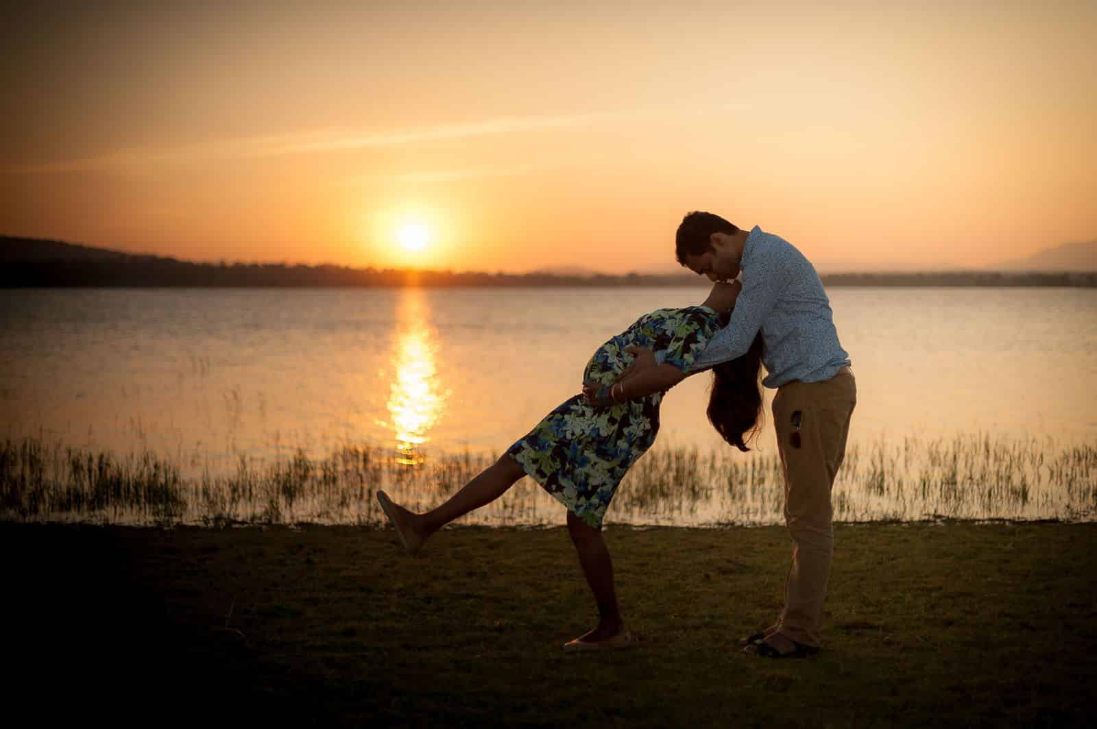 anoop-maternity-photographer-bangalore-orange-county-sunset