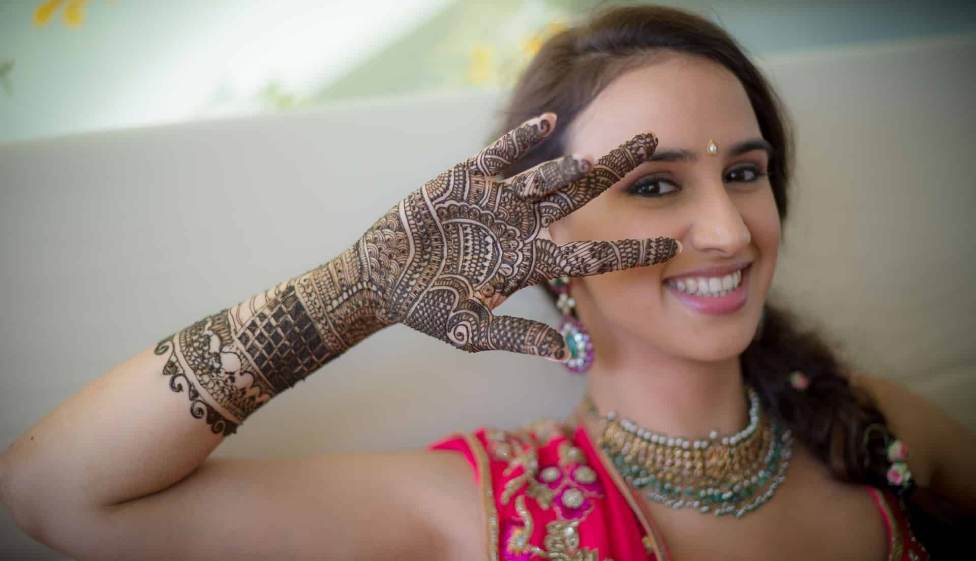 Indian Wedding Photography Phuket | Mehendi Ceremony in Indian Wedding