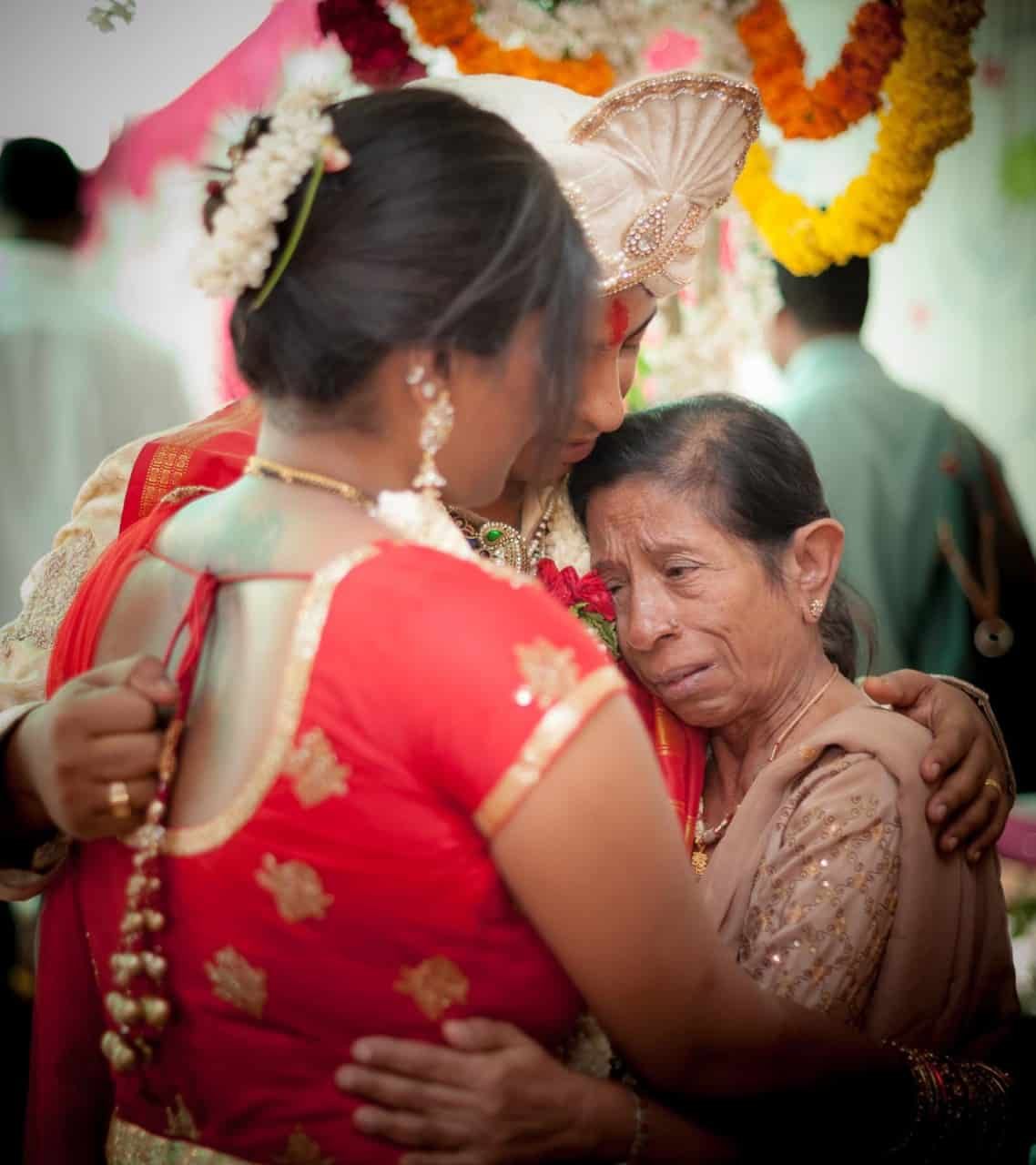 top-wedding-photographer-bangalore-groom-mother-crying