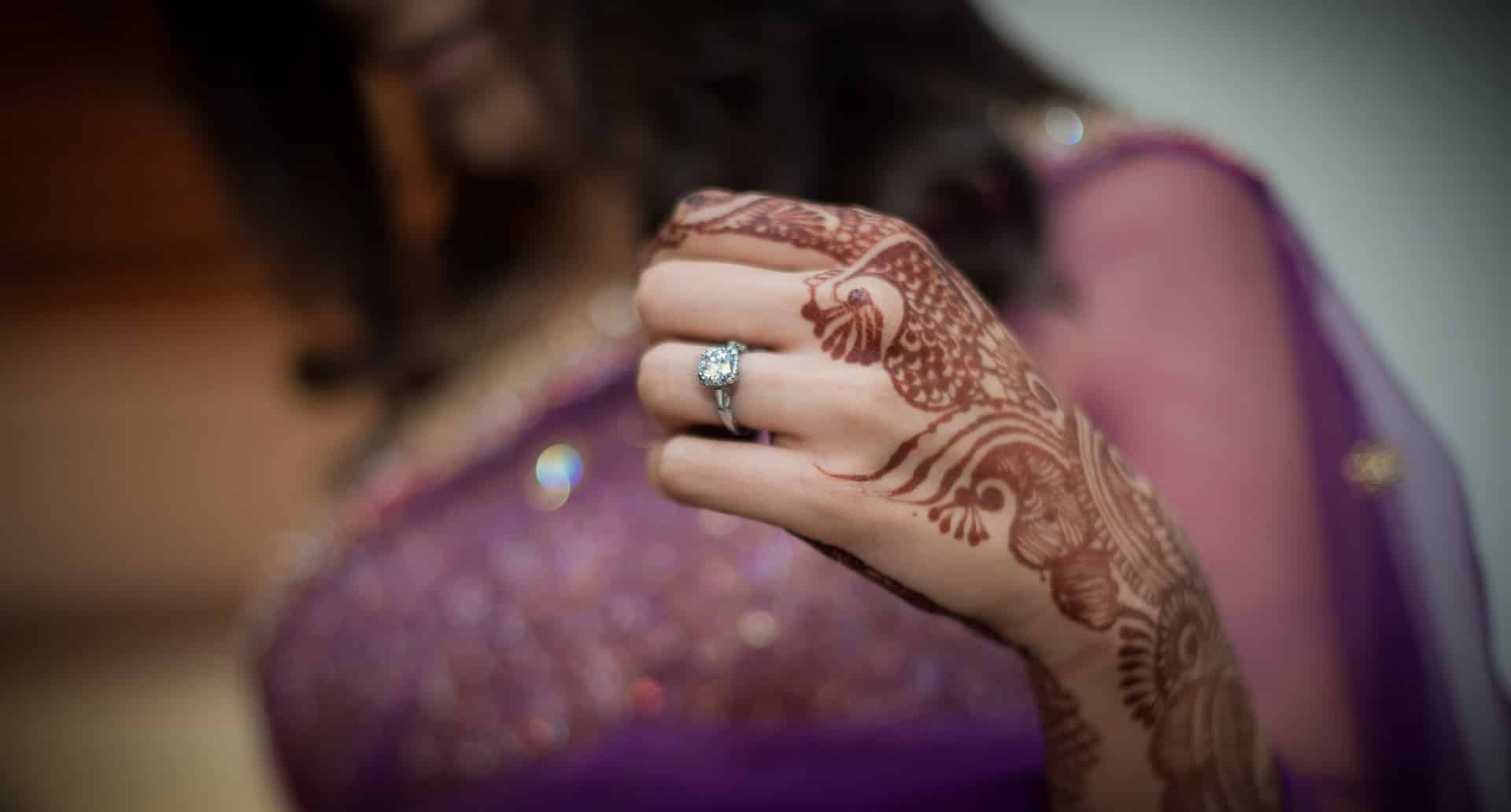 Destination Wedding Photography Malaysia | Diamond Ring Candid Wedding Photographer Taj Westend Bangalore