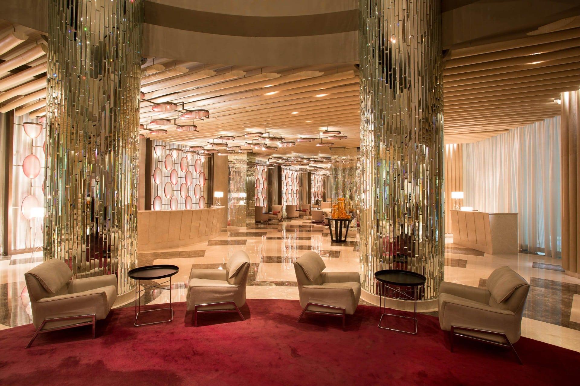 Best Architecture Photographer New Delhi   ITC Hotel Lobby Photography India