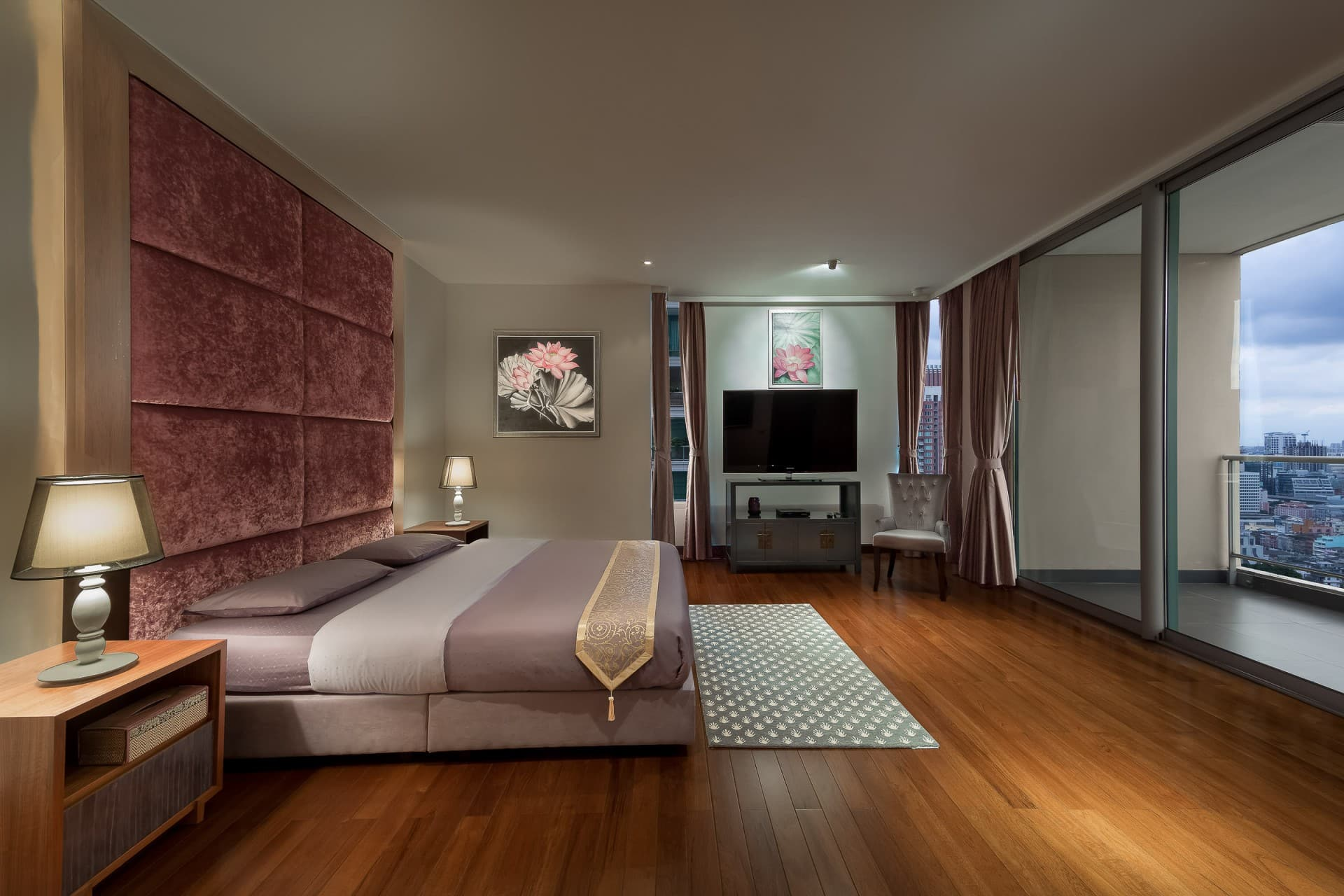 Best Architecture Photographer Bangkok   Luxury Condo Guest Bedroom Photography