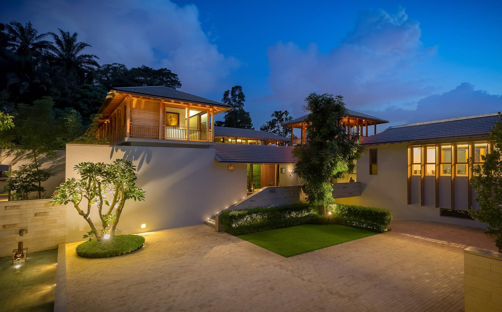 Best Architecture Photographer Malaysia   Luxury Home Facade Photography Kuala Lumpur