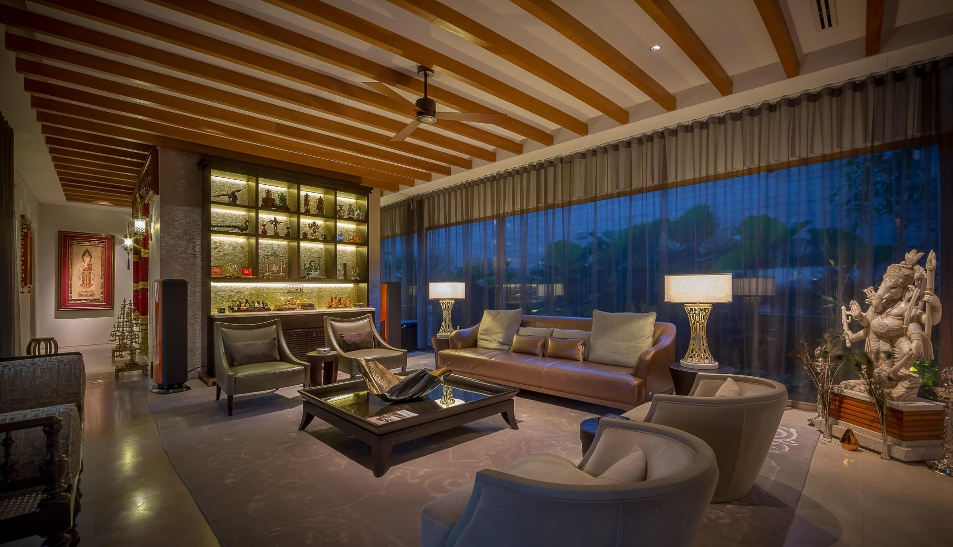 Best Architecture Photographer Kuala Lumpur | Luxury Home Living Room Photography