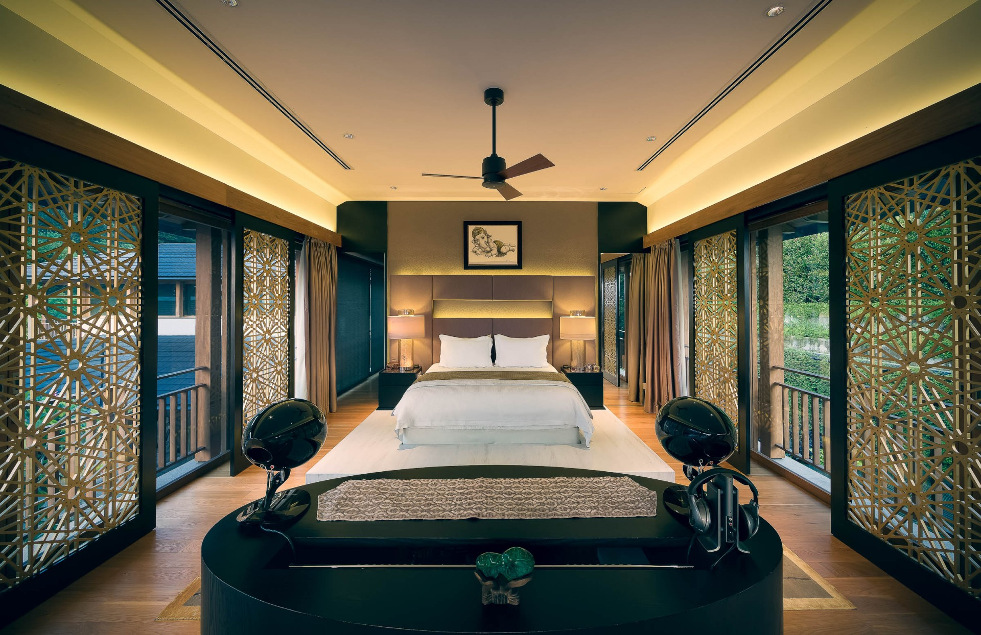 Best Architecture Photographer Malaysia | Luxury Home Master bedroom Photography Kuala Lumpur