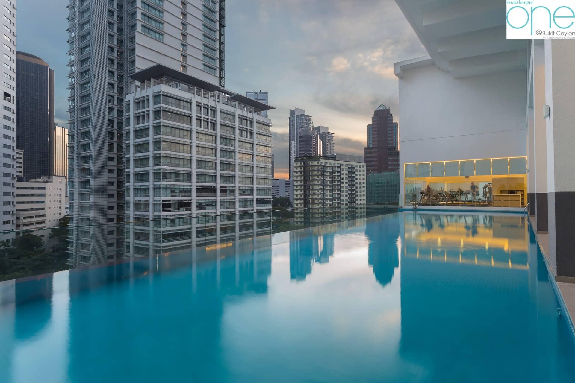 Top Architecture Photographer Kuala Lumpur Malaysia | Prana Resorts Bukit Ceylon Swimming Pool Photography