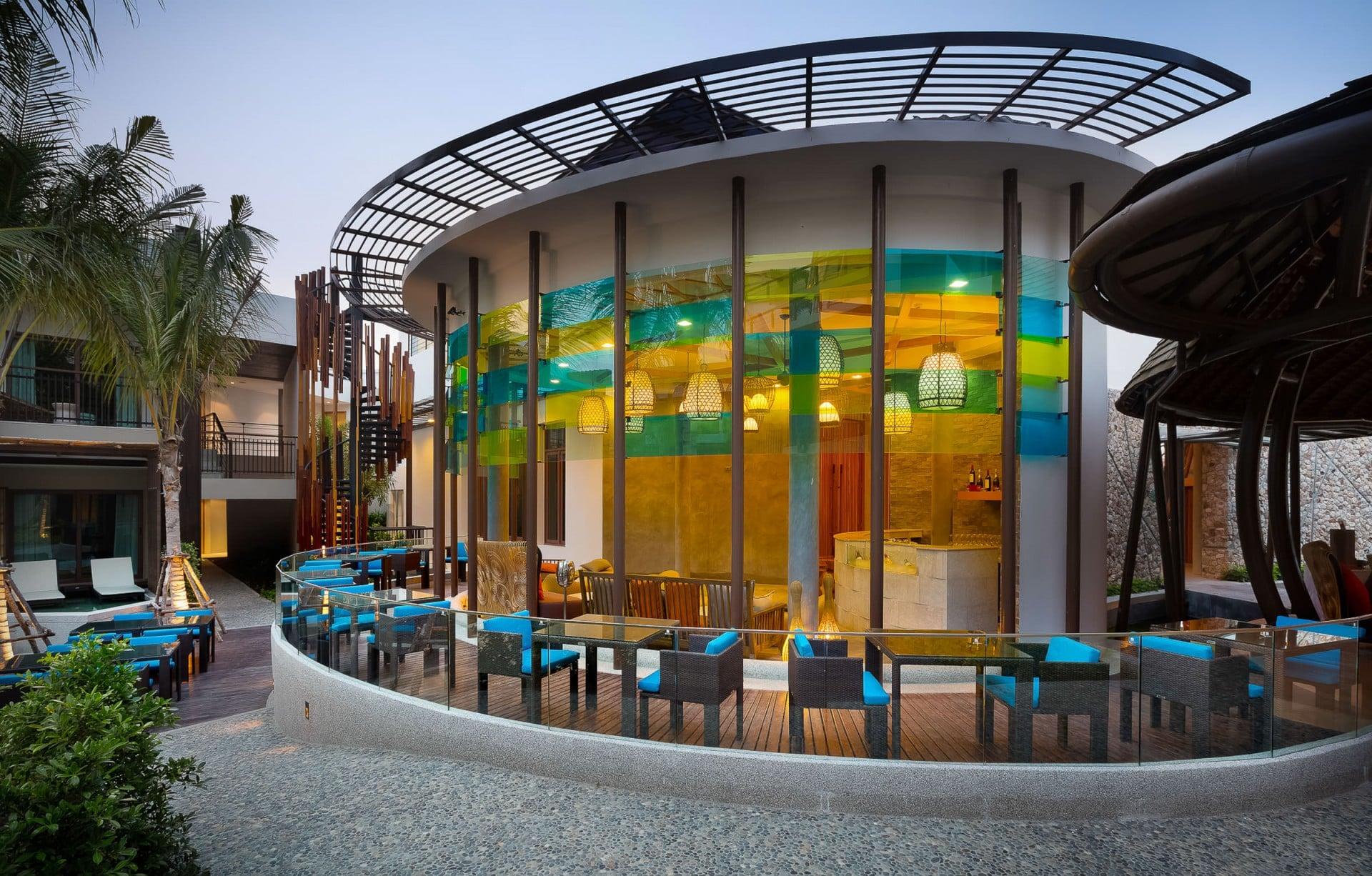 Best Architecture Photographer Thailand   Prana Resorts Nandana Exterior Bar Photography Koh Samui