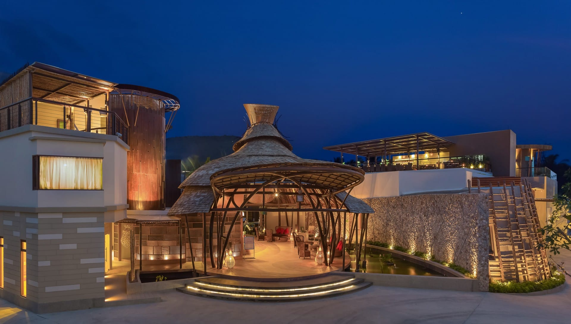 Best Architecture Photographer in Koh Samui   Prana Resorts Nandana Exterior Facade Photography