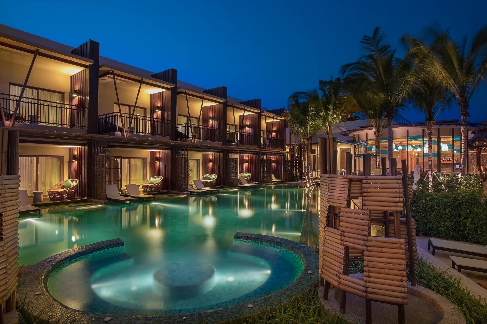 Best Architecture Photographer Koh Samui Thailand   Prana Resorts Nandana Swimming Pool Photography