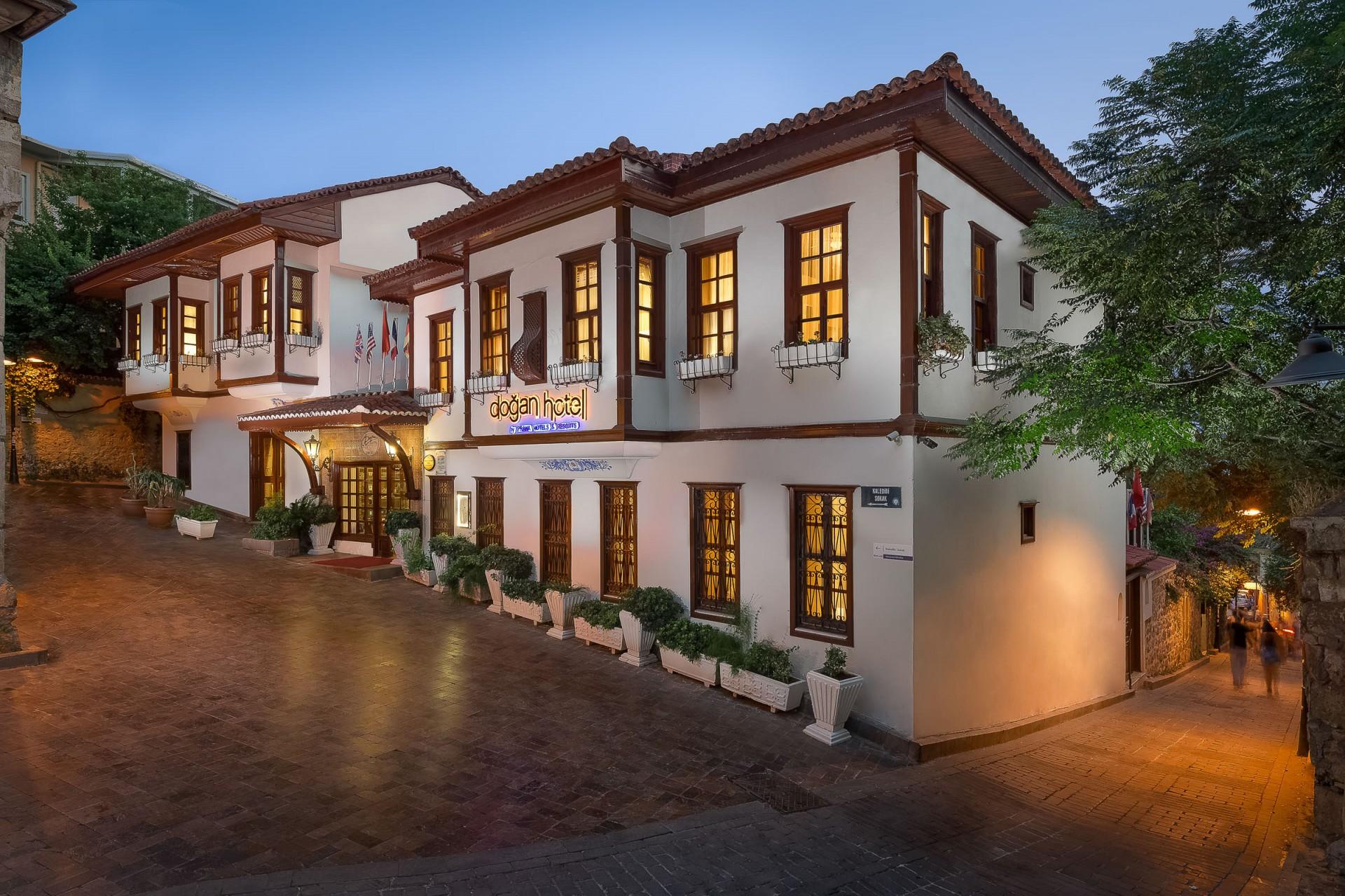 Best Architecture Photographer Kaleici Antalya Turkey   Prana Resorts Dogan Hotel Facade Photography Antalya Turkey