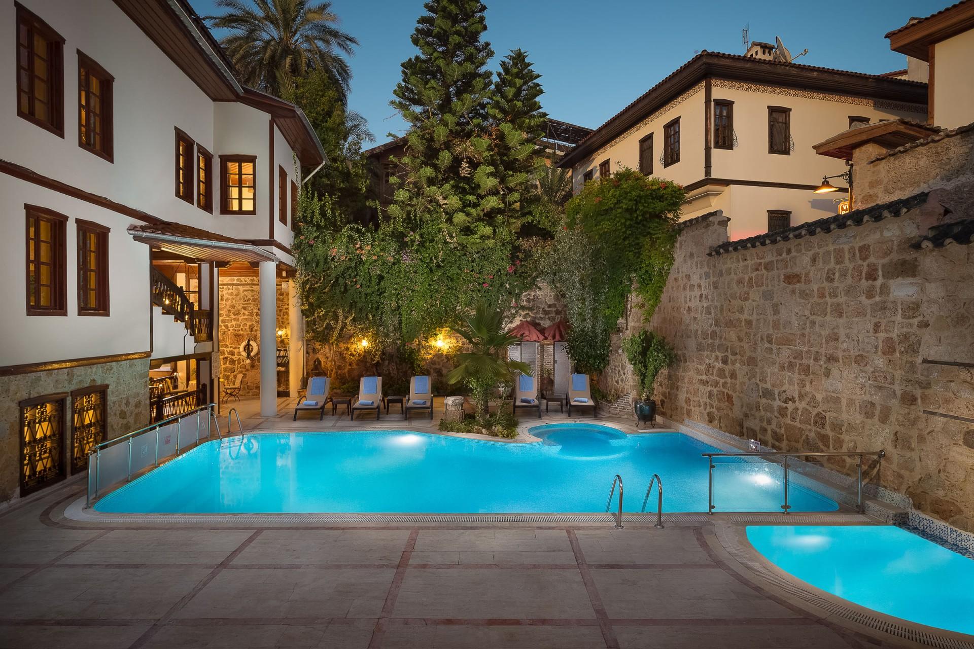 Best Architecture Photographer Antaya Turkey   Prana Resorts Dogan Hotel Swimming Pool Photography Kaleici