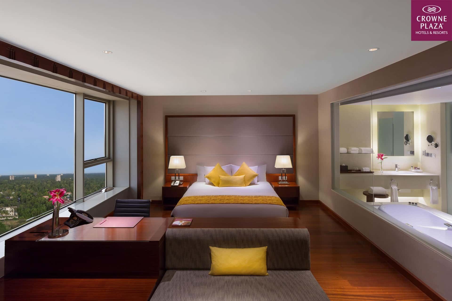 Best Architecture Photographer Kochi India   Crowne Plaza Executive Delux Room Photography Delhi India
