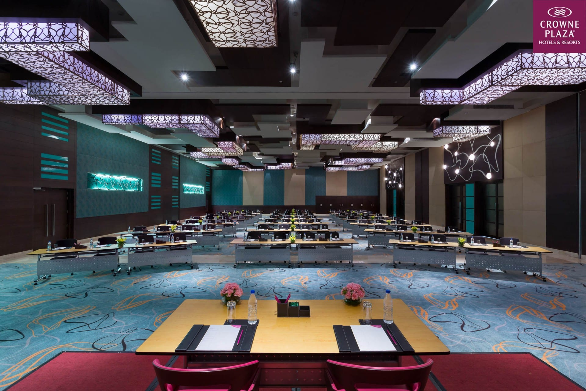 Best Architecture Photographer Noida India   Crowne Plaza Conference Class Room Setup Photography Delhi