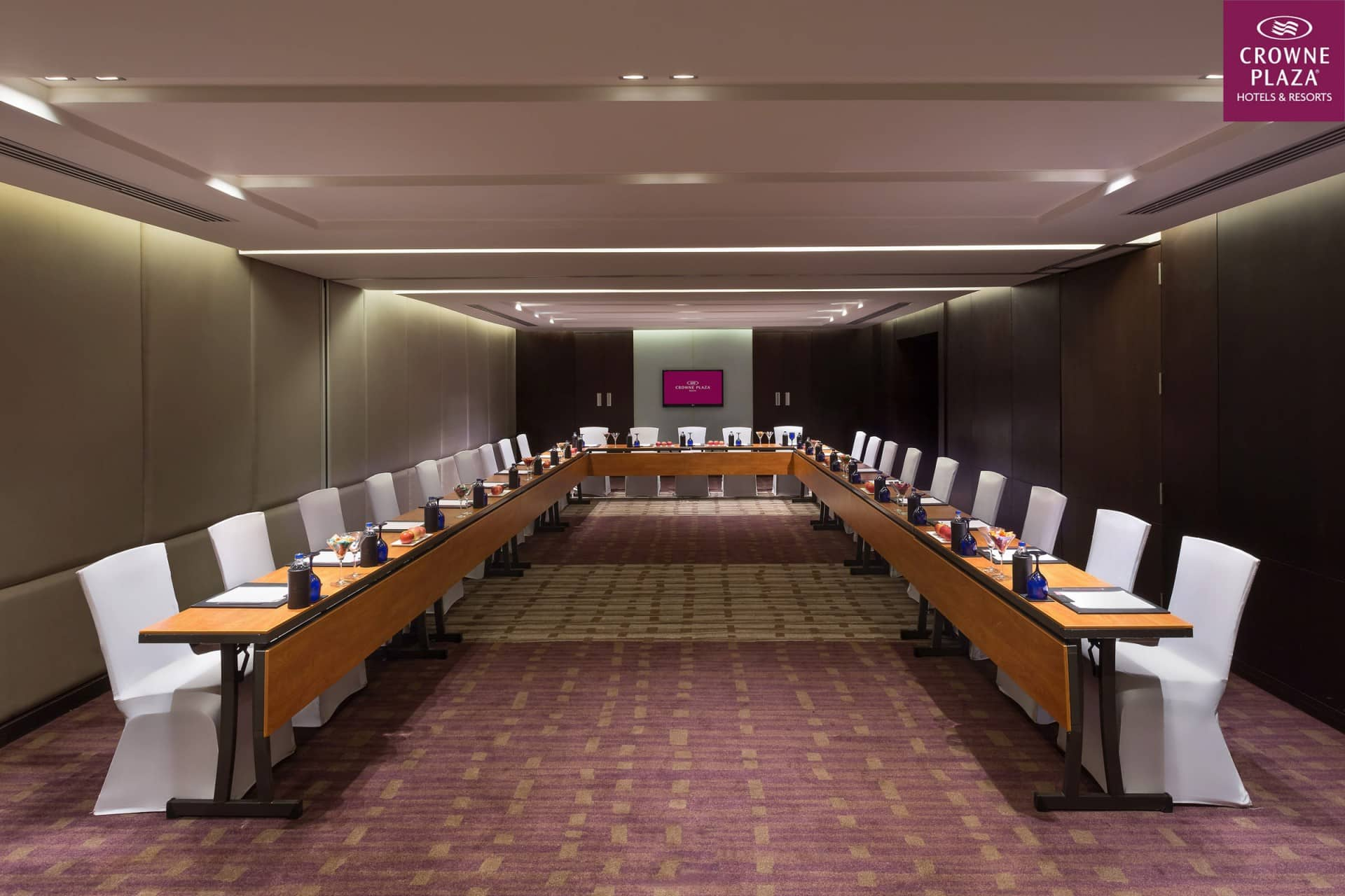 Best Architecture Photographer Delhi India | Crowne Plaza Conference Room Photography Noida