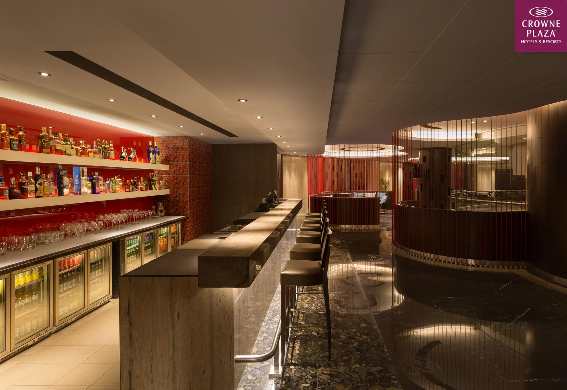 Best Architecture Photographer Delhi India   Crowne Plaza Restaurant Photography Noida