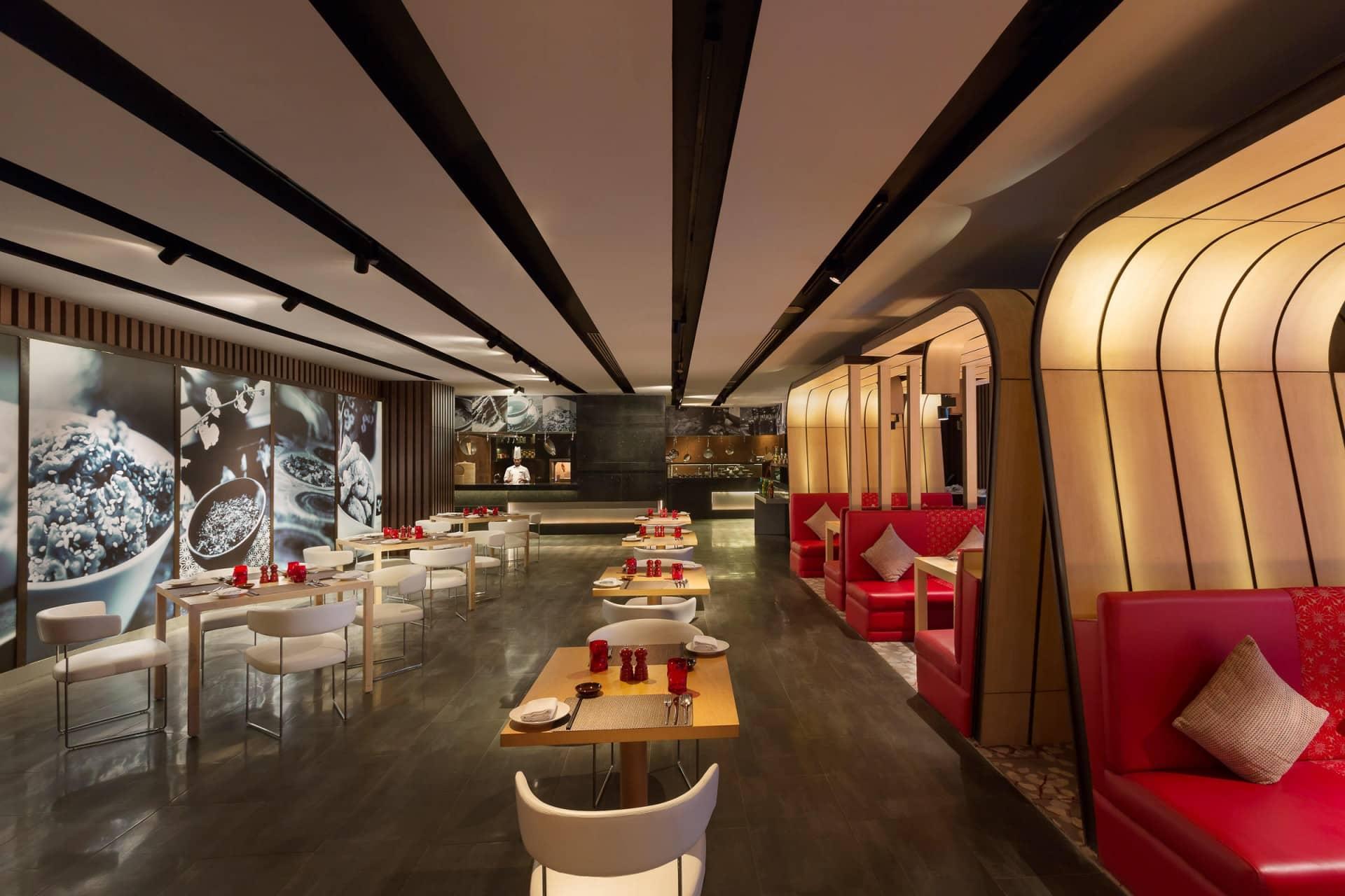 Best Architecture Photographer India   Crowne Plaza Restaurant Photography Delhi