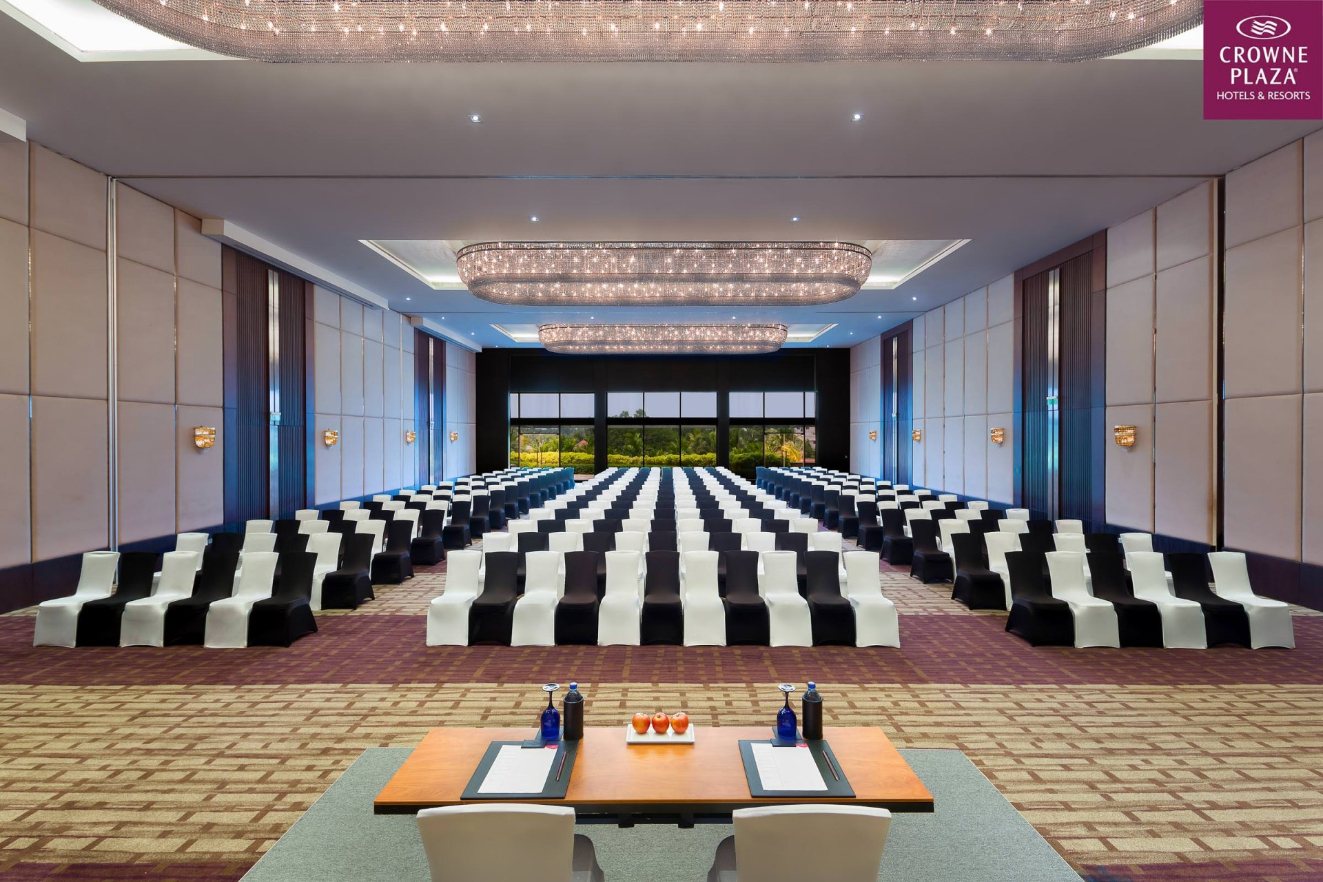 Best Architecture Photographer India   Crowne Plaza Conference Room Theatre Photography Kochi