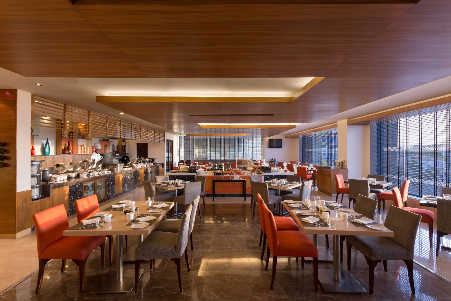Best Architecture Photographer India   Four Points by Sheraton Restaurant