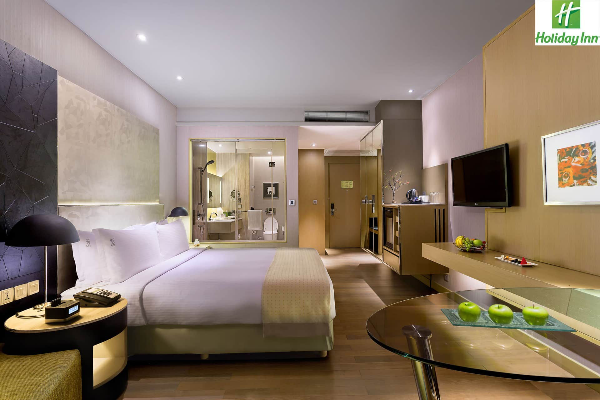Best Architecture Photographer Jaipur India   Holiday Inn Double Bedroom Photography India