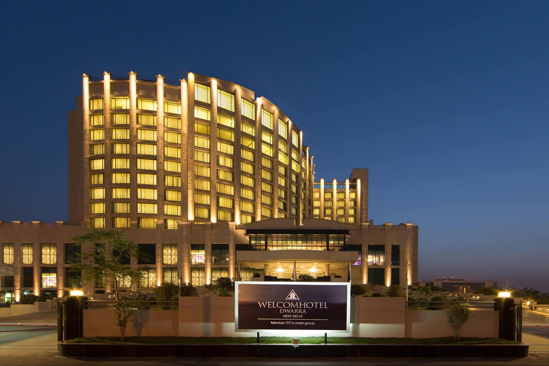 Best Architecture Photographer India | ITC Welcom Hotel Exterior Facade Photography New Delhi