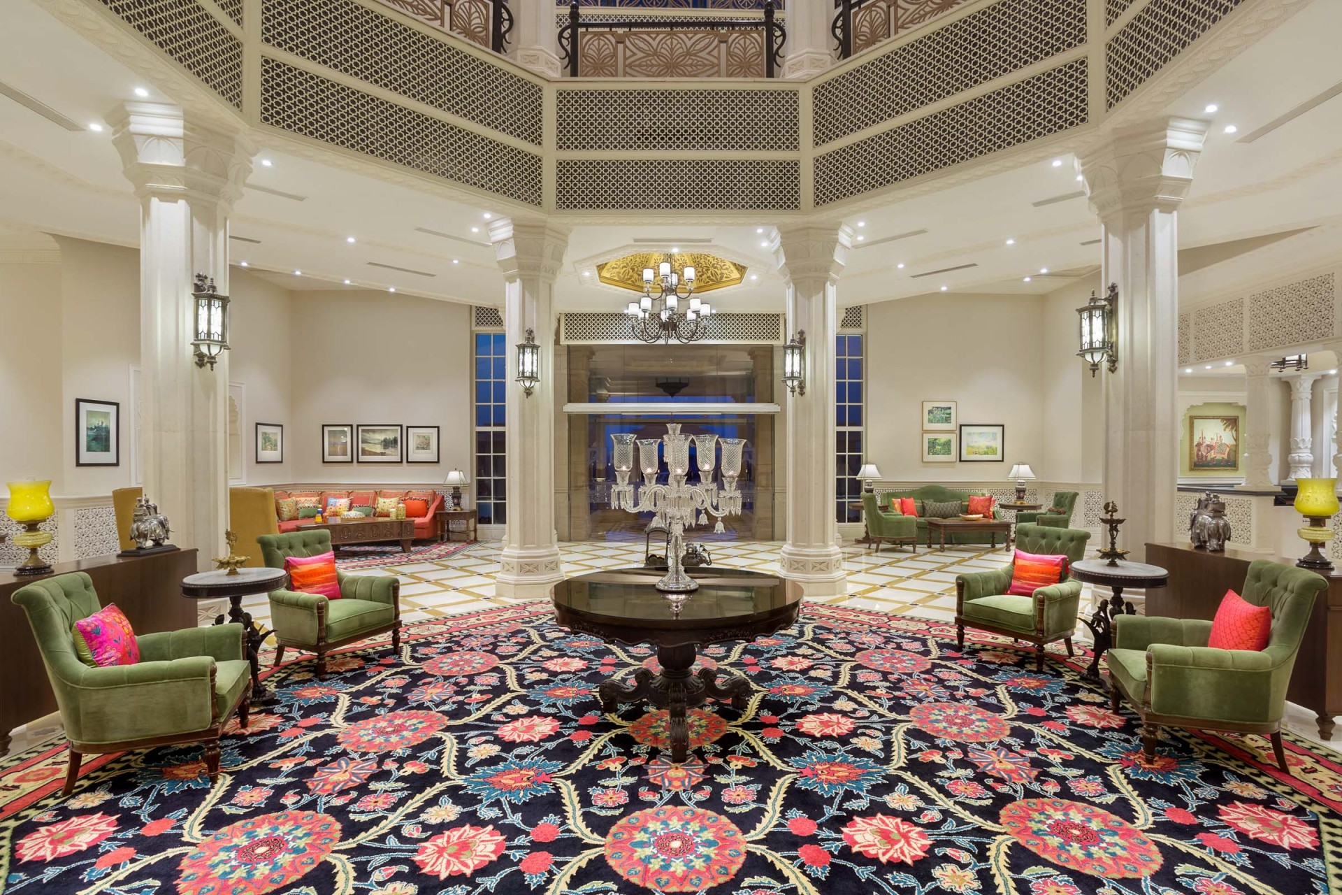 Best Architecture Photographer Delhi India   Collection of Luxury Lobby Photography