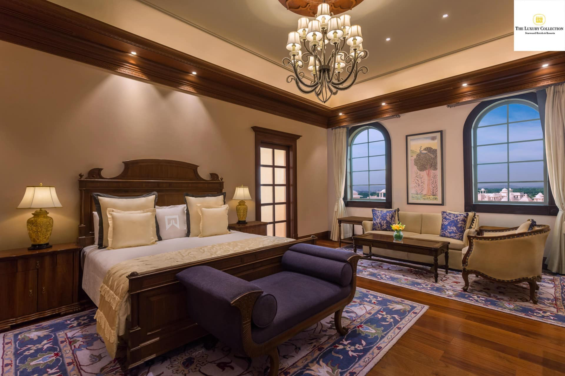 Best Architecture Photographer India   Collection of Luxury Grand Master Bedroom Photography Delhi