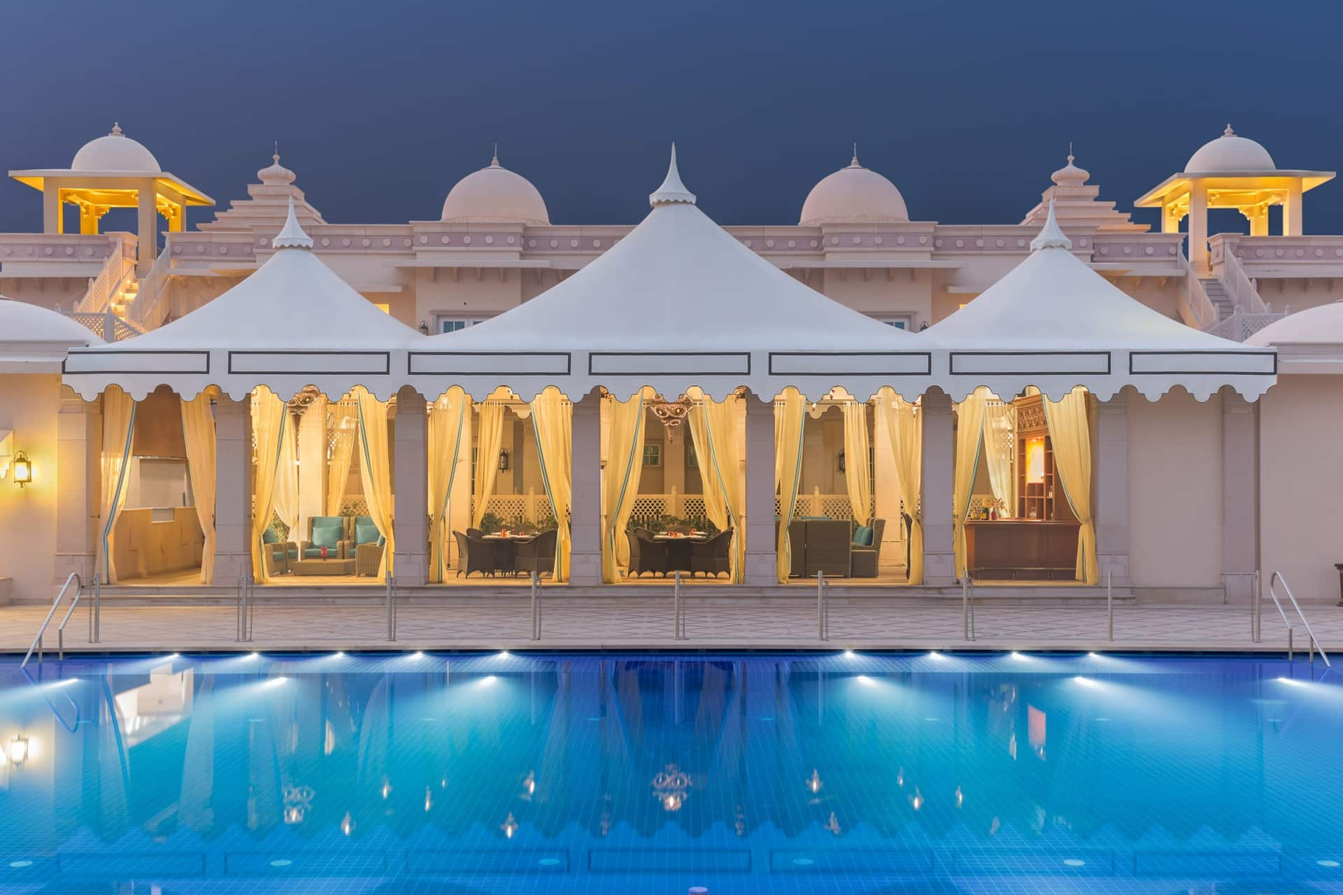 Best Architecture Photographer Delhi India | Collections of Luxury Restaurant Poolside Photography India