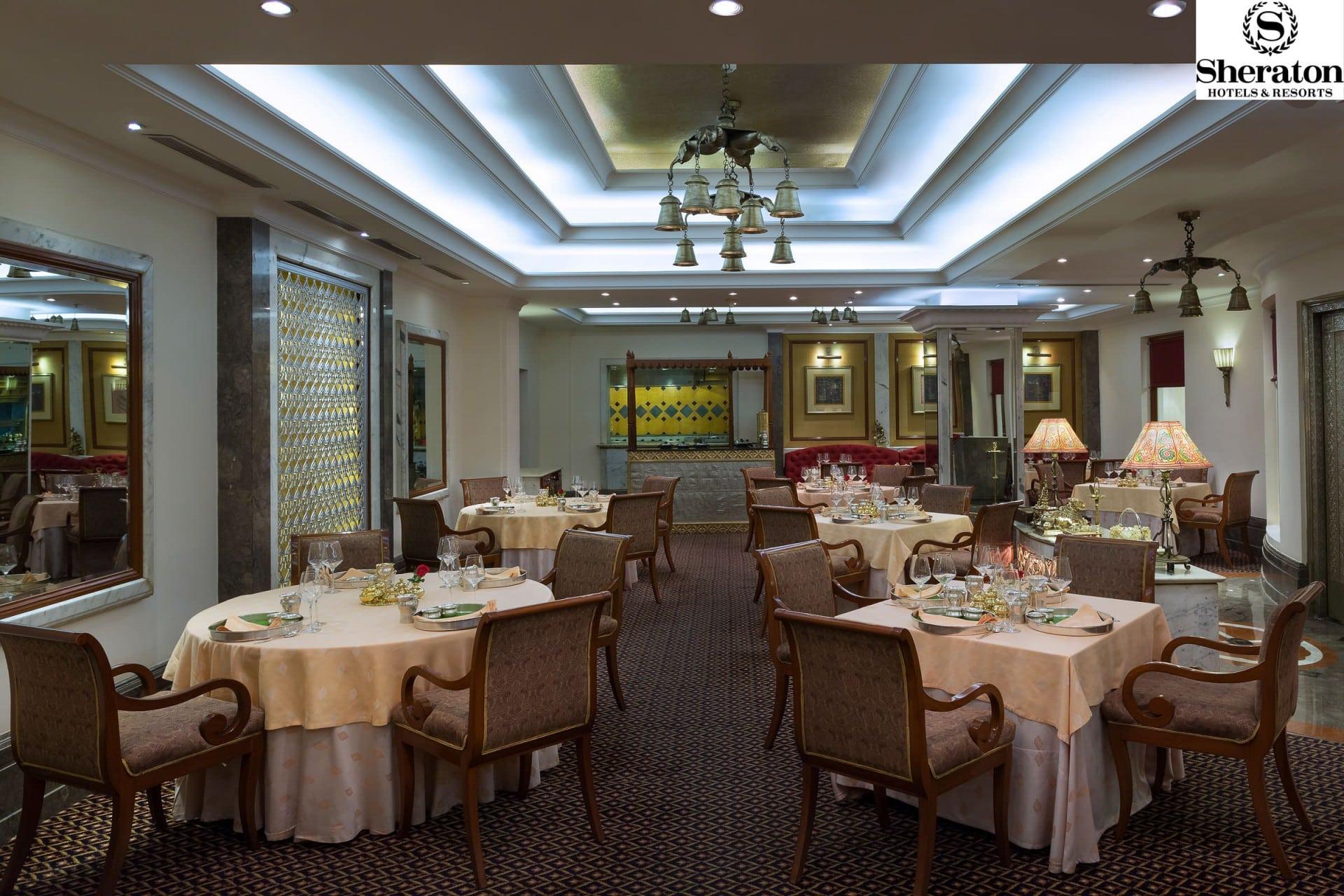 Architecture Photographer New Delhi India   Sheraton Restaurant Hotel Photography