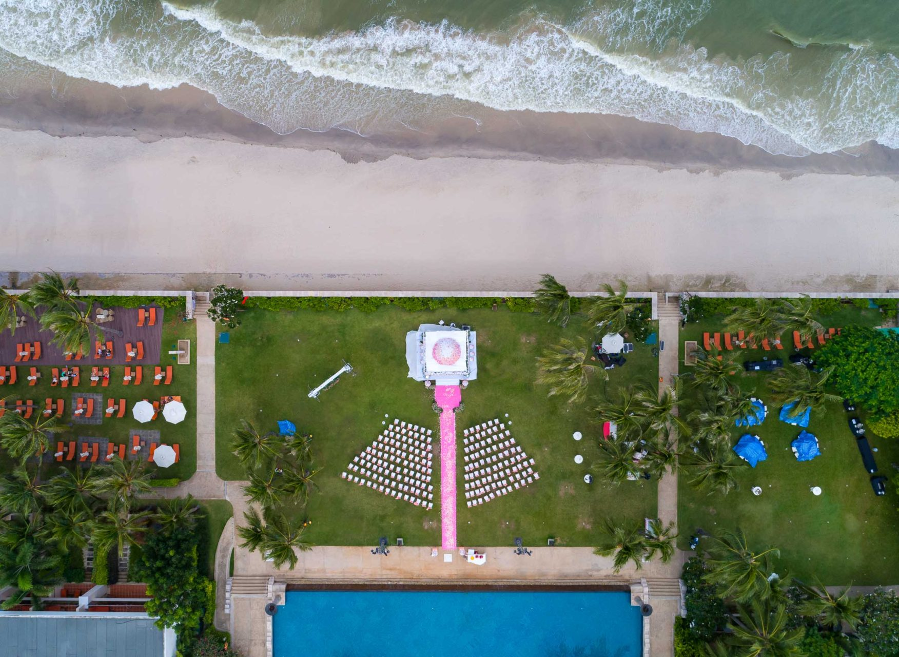 drone-wedding-photography-thailand-huahin-sheraton-indian-wedding